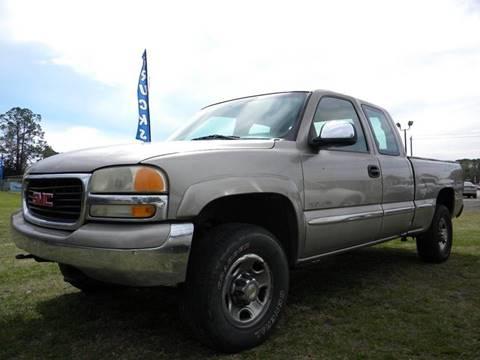 2001 GMC Sierra 2500 for sale in Palatka, FL