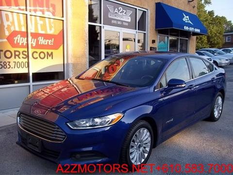 2013 Ford Fusion Hybrid for sale in Sharon Hill, PA