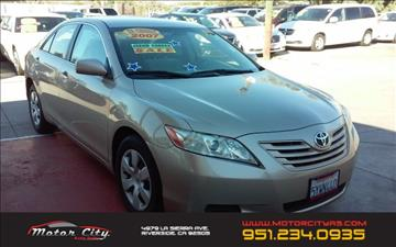 2007 Toyota Camry for sale in Riverside, CA