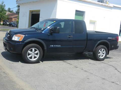 2008 Nissan Titan for sale in Concord, NH