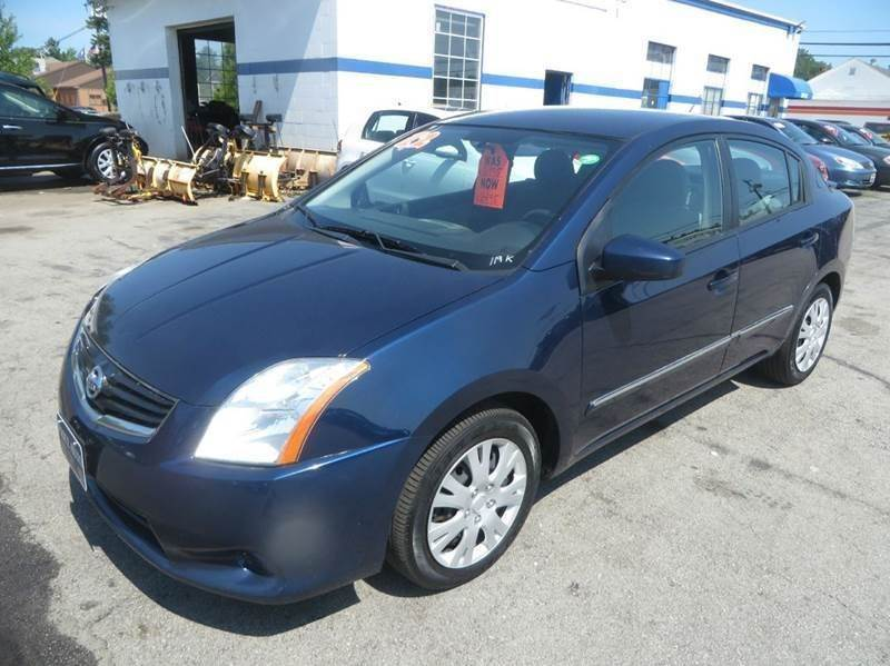 2012 Nissan Sentra 2 0 4dr Sedan CVT In Concord NH - Price Auto Sales 2