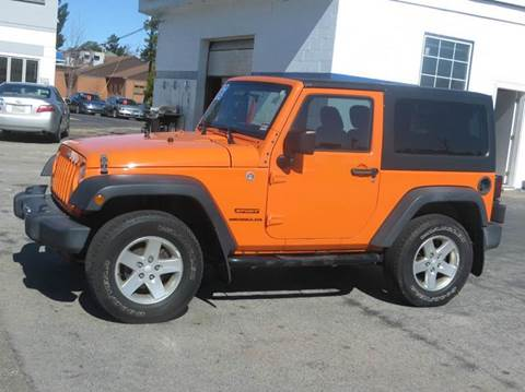 2012 Jeep Wrangler for sale in Concord, NH