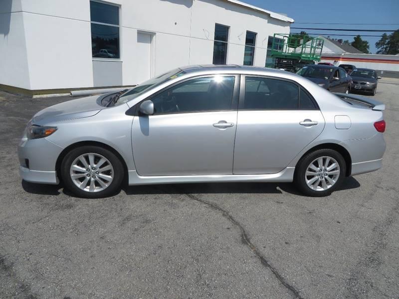 2009 Toyota Corolla S 4dr Sedan 5M In Concord NH - Price Auto Sales 2