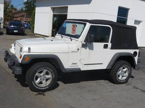 2006 Jeep Wrangler for sale in Concord, NH