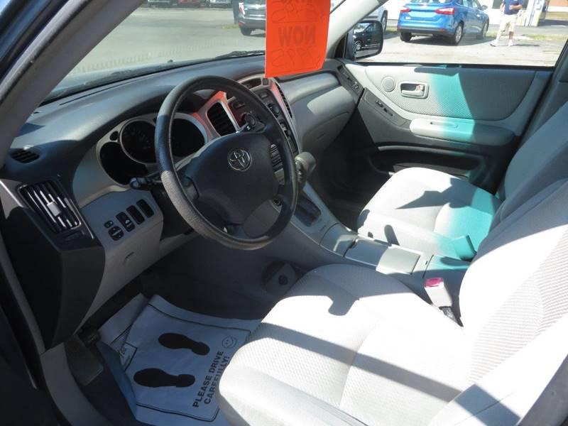 2007 Toyota Highlander AWD Sport 4dr SUV - Concord NH