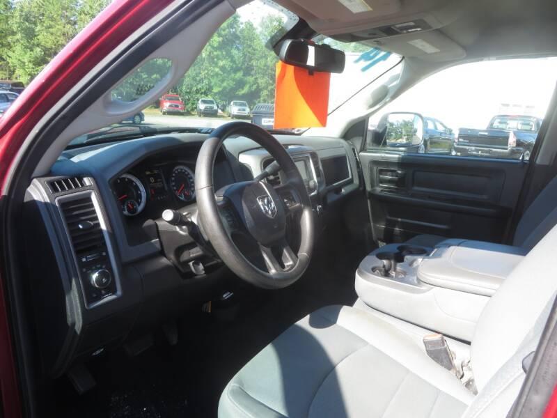 2014 RAM Ram Pickup 1500 4x4 Tradesman 4dr Quad Cab 6.3 ft. SB Pickup - Concord NH