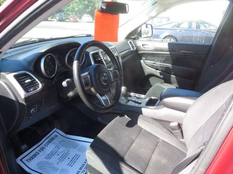 2012 Jeep Grand Cherokee 4x4 Laredo 4dr SUV - Concord NH
