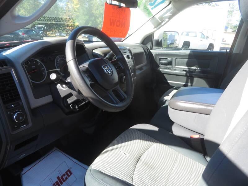 2012 RAM Ram Pickup 1500 4x4 ST 4dr Quad Cab 6.3 ft. SB Pickup - Concord NH