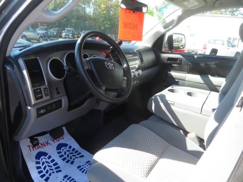 2013 Toyota Tundra 4x4 Grade 4dr Double Cab Pickup SB (4.6L V8) - Concord NH