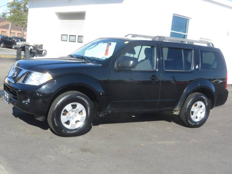 2012 Nissan Pathfinder 4x4 S 4dr SUV - Concord NH