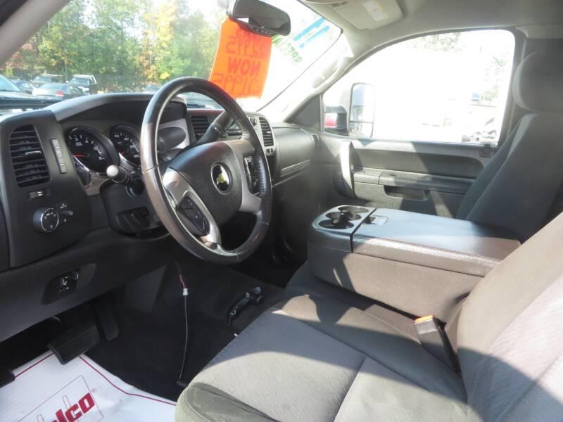 2011 Chevrolet Silverado 2500HD 4x4 LT 4dr Extended Cab LB - Concord NH