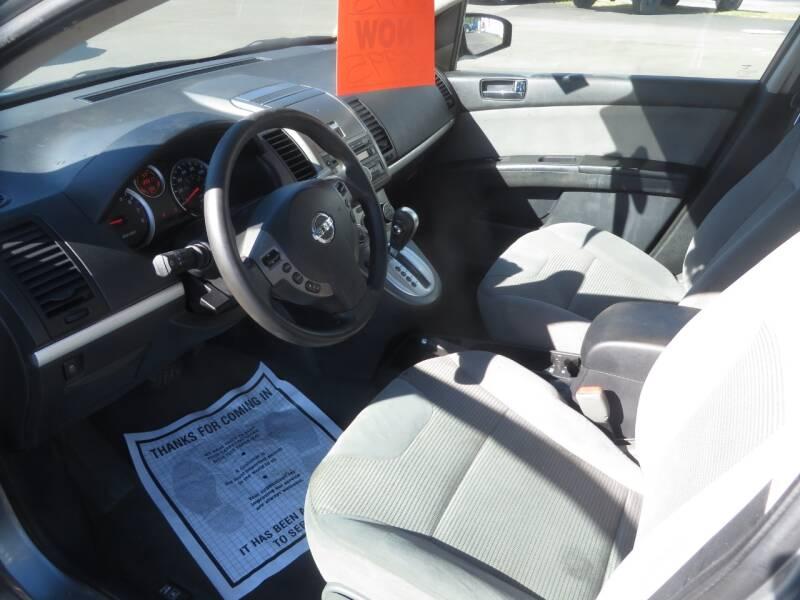 2012 Nissan Sentra 2.0 S 4dr Sedan - Concord NH