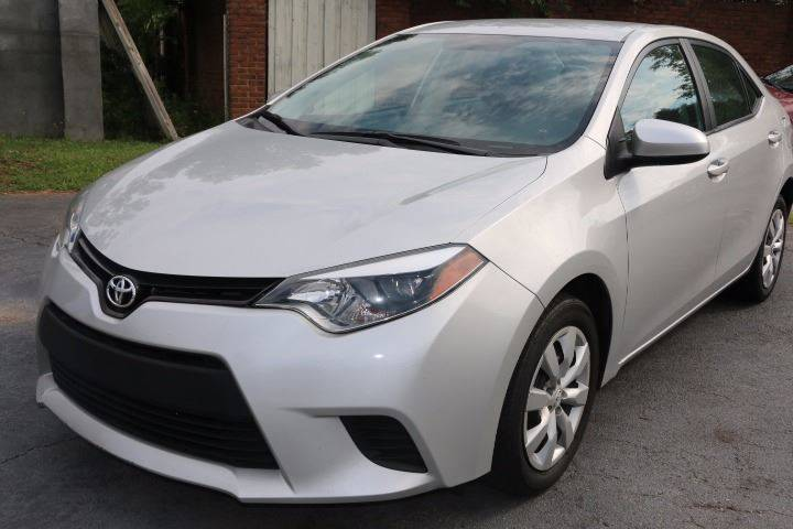 2014 TOYOTA COROLLA L 4DR SEDAN 4A silver dual front airbags side airbags head airbags rear he
