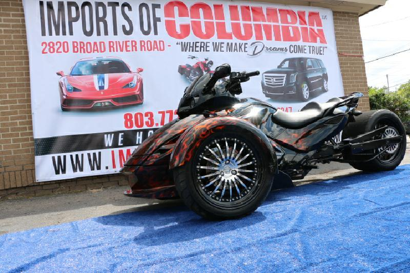 2010 Can-Am SPYDER RT-S SE5 - Columbia SC
