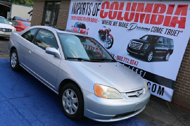 2002 Honda Civic EX 2dr Coupe - Columbia SC