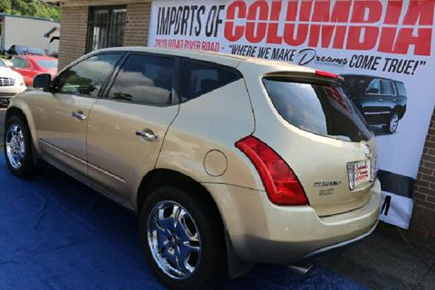 nissan murano for sale in columbia sc. Black Bedroom Furniture Sets. Home Design Ideas