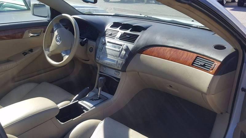 2007 TOYOTA CAMRY SOLARA SE V6 2DR CONVERTIBLE white air conditioning power windows power locks