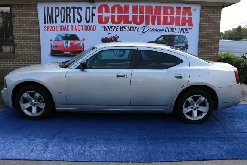 2008 DODGE CHARGER BASE 4DR SEDAN silver air conditioning power windows power locks power stee