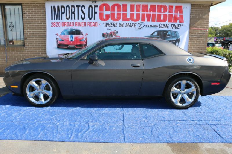 2013 DODGE CHALLENGER SXT 2DR COUPE gray air conditioning power windows power locks power stee