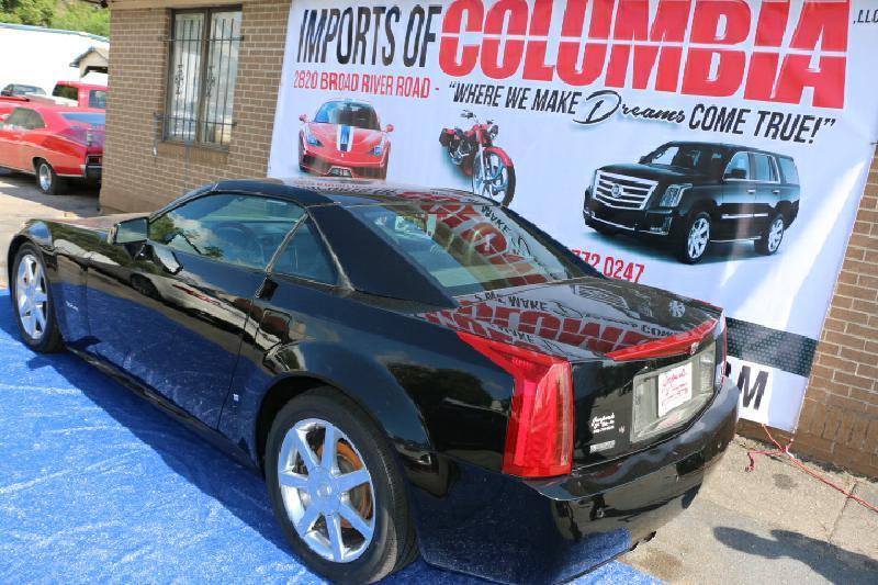 2006 CADILLAC XLR black air conditioning power windows power locks power steering tilt wheel