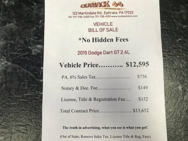 2015 Dodge Dart GT (image 2)