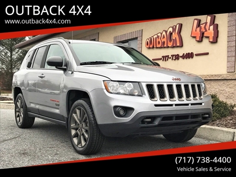 2016 Jeep Compass Sport 75th Anniversary for sale at OUTBACK 4X4 in Ephrata PA