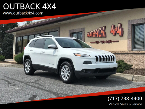 2017 Jeep Cherokee for sale at OUTBACK 4X4 in Ephrata PA