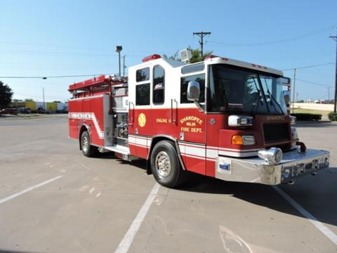 1998 Pierce Fire Truck for sale in Grand Prairie, TX