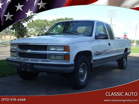 1997 Chevrolet C/K 2500 Series for sale in Greeley, CO