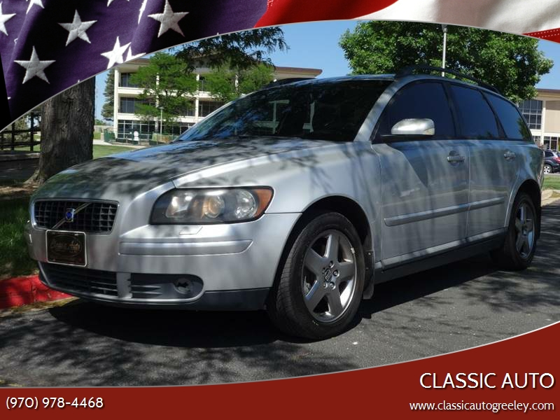 2005 Volvo V50 AWD T5 4dr Turbo Wagon In Greeley CO