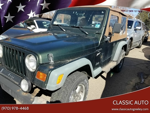 1997 Jeep Wrangler for sale in Greeley, CO