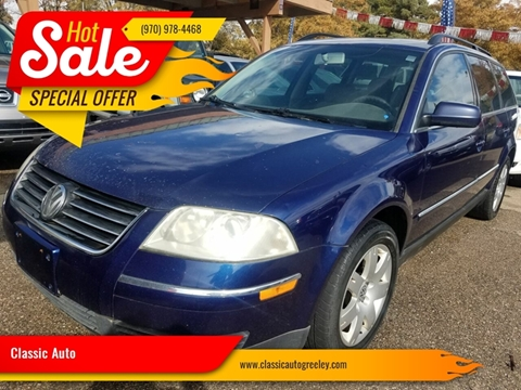 Car Dealerships In Greeley Co >> Classic Auto Used Cars Greeley Co Dealer
