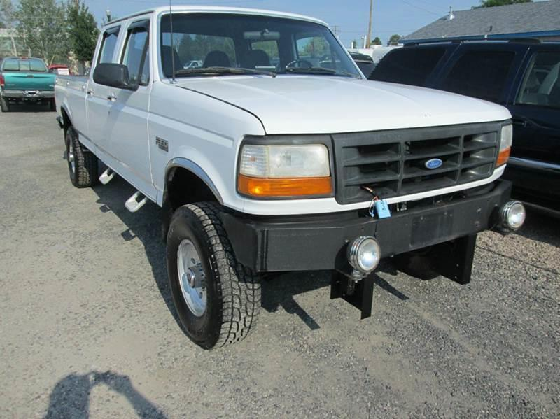 1997 ford f 350 xlt 4dr 4wd crew cab lb in redmond or miller 39 s economy auto. Black Bedroom Furniture Sets. Home Design Ideas
