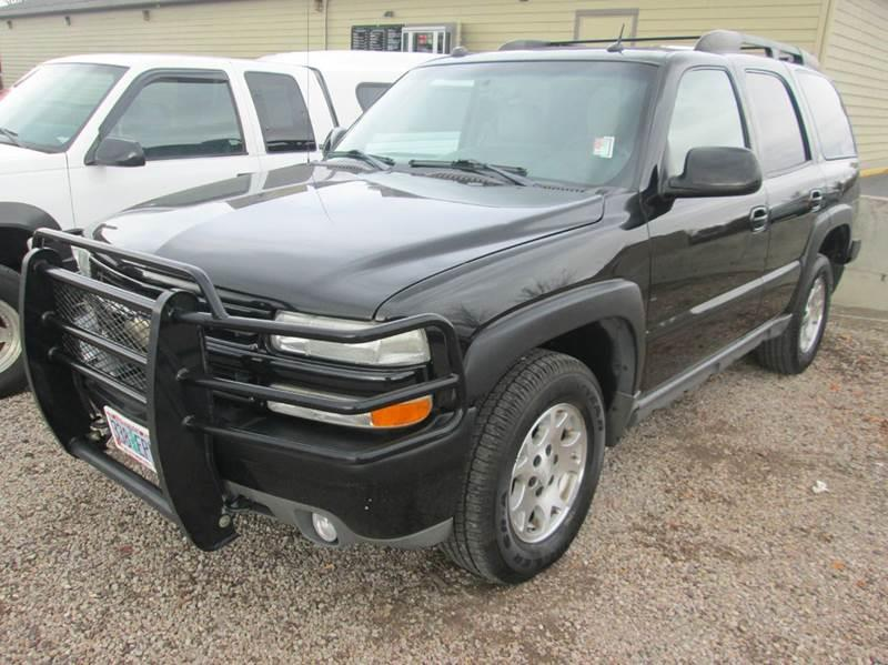 2004 chevrolet tahoe z71 4wd 4dr suv in redmond or. Black Bedroom Furniture Sets. Home Design Ideas
