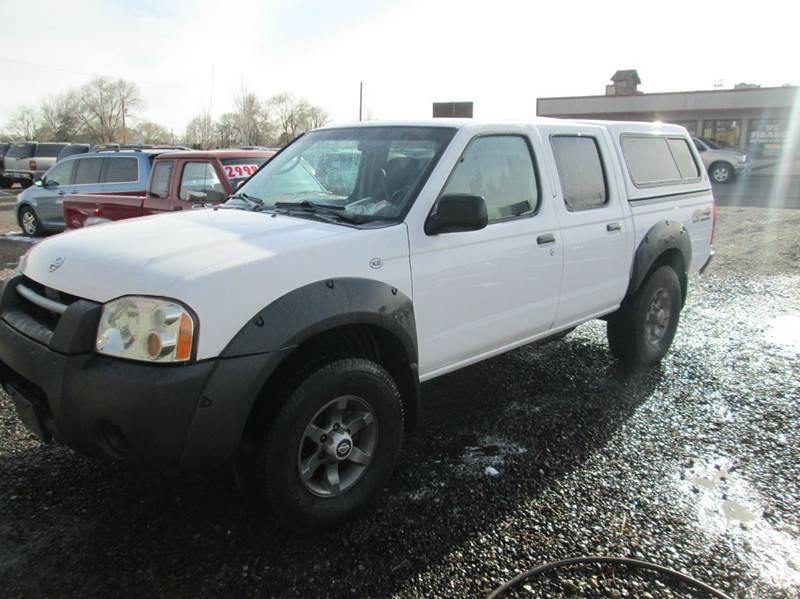 2003 nissan frontier xe v6 4dr crew cab 4wd sb in redmond. Black Bedroom Furniture Sets. Home Design Ideas