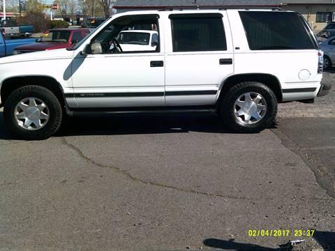 1999 Chevrolet Tahoe for sale in Redmond, OR