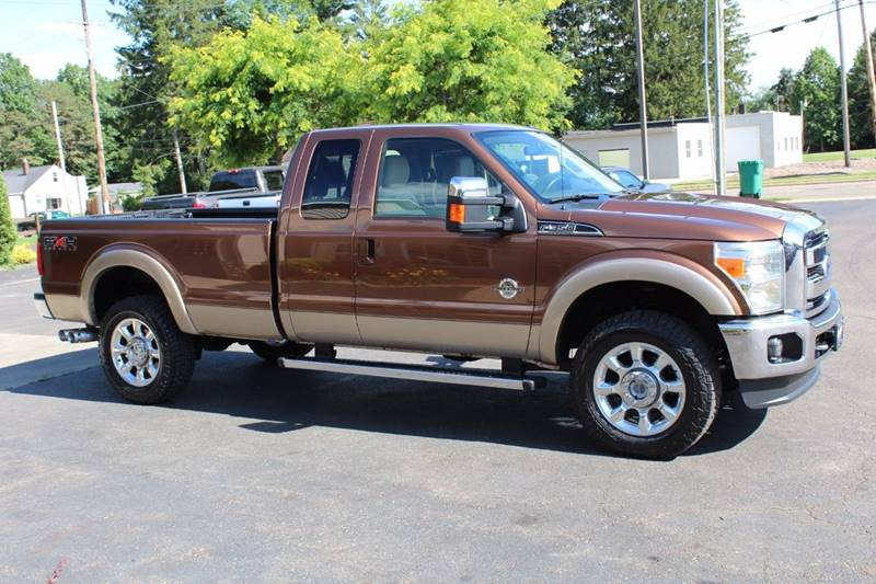 2011 Ford F-350 Super Duty 4x4 Lariat 4dr SuperCab 8 ft. LB SRW Pickup - Wooster OH