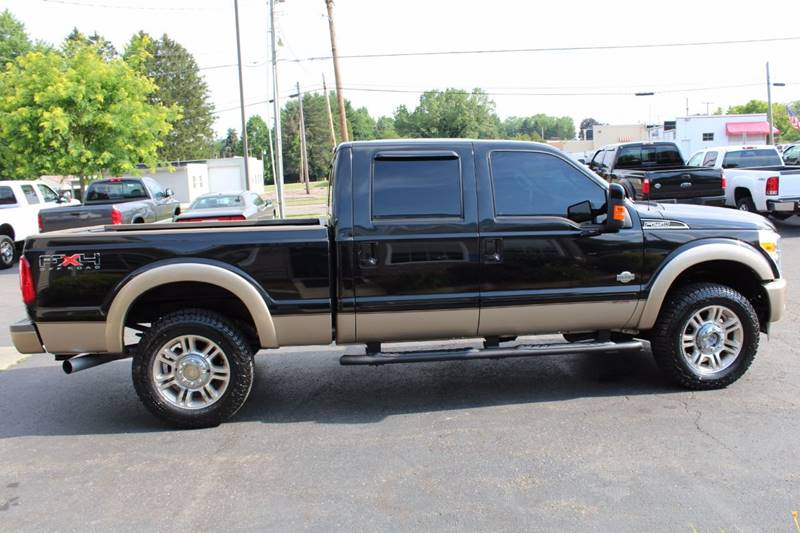 2011 Ford F-250 Super Duty 4x4 King Ranch 4dr Crew Cab 6.8 ft. SB Pickup - Wooster OH
