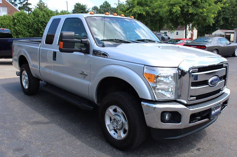 2012 Ford F-250 Super Duty 4x4 XLT 4dr SuperCab 6.8 ft. SB Pickup - Wooster OH