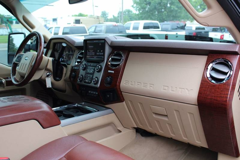 2013 Ford F-250 Super Duty 4x4 King Ranch 4dr Crew Cab 6.8 ft. SB Pickup - Wooster OH