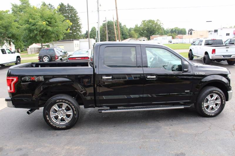 2016 Ford F-150 4x4 XLT 4dr SuperCrew 5.5 ft. SB - Wooster OH