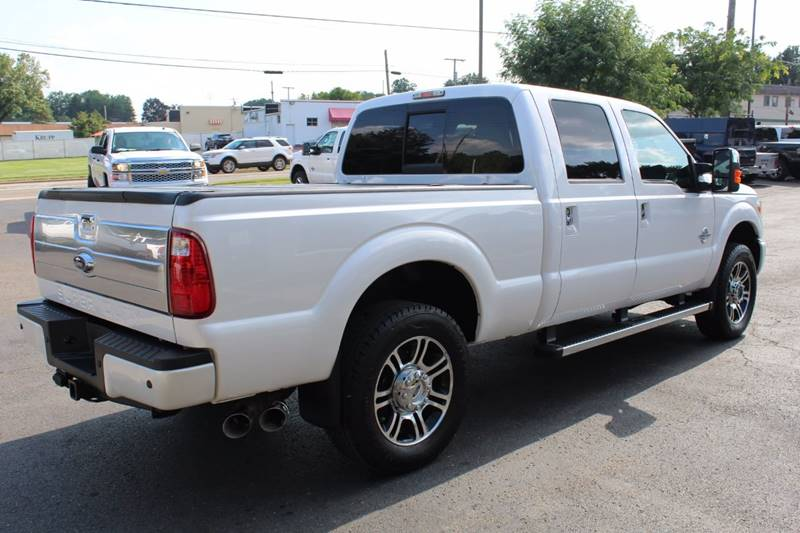2014 Ford F-250 Super Duty 4x4 Platinum 4dr Crew Cab 6.8 ft. SB Pickup - Wooster OH