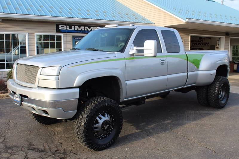 2004 Chevrolet Silverado 3500 4dr Extended Cab LS 4WD LB DRW - Wooster OH