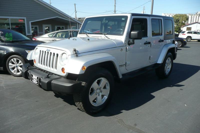 2008 Jeep Wrangler Unlimited For Sale At Dam Auto Sales In Sioux City IA