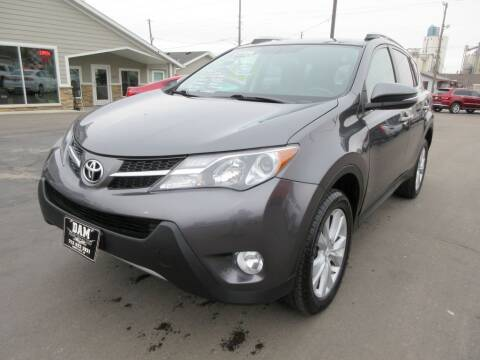 2013 Toyota RAV4 for sale at Dam Auto Sales in Sioux City IA