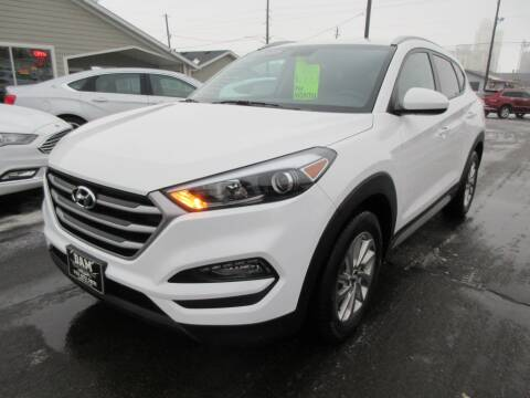 2018 Hyundai Tucson for sale at Dam Auto Sales in Sioux City IA