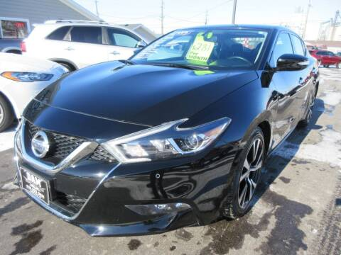 2018 Nissan Maxima for sale at Dam Auto Sales in Sioux City IA
