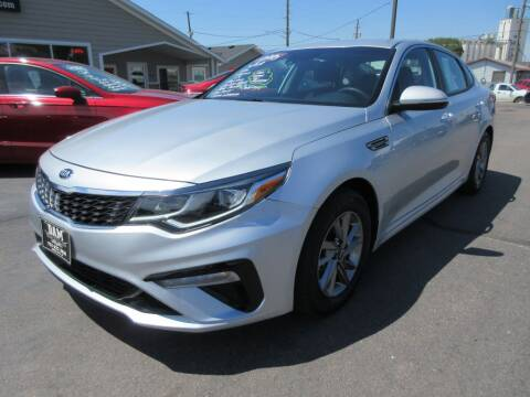 2019 Kia Optima for sale at Dam Auto Sales in Sioux City IA