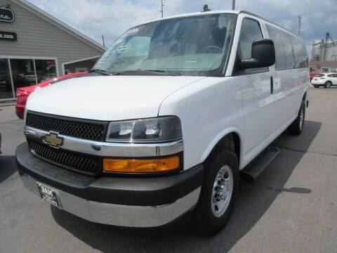 2019 Chevrolet Express Passenger for sale at Dam Auto Sales in Sioux City IA