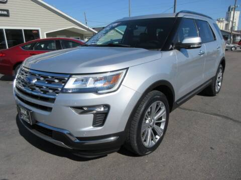 2018 Ford Explorer for sale at Dam Auto Sales in Sioux City IA